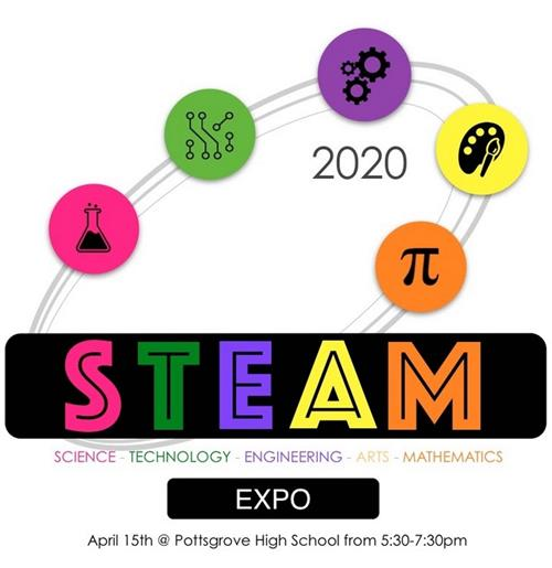 Steam Expo April 15th 5:30 to 7:30 PM