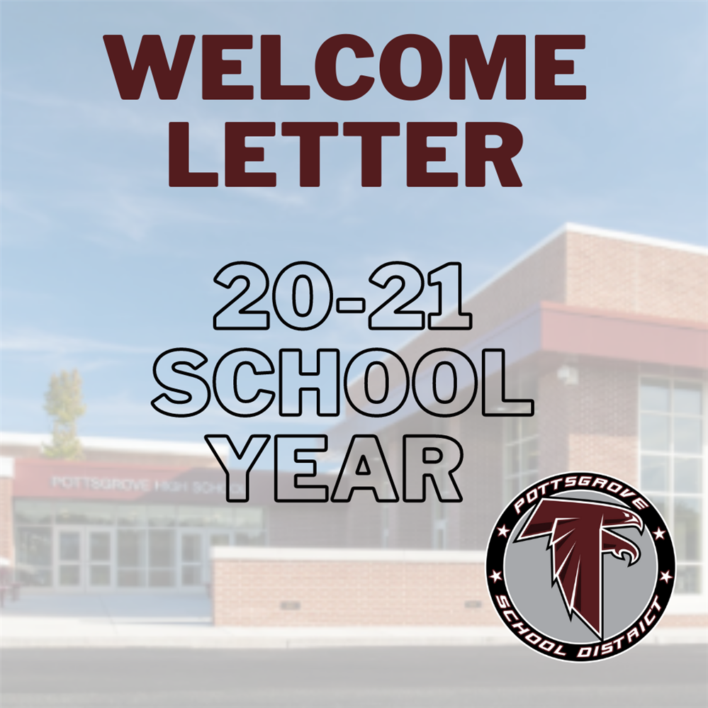 Welcome Letter for Start of School