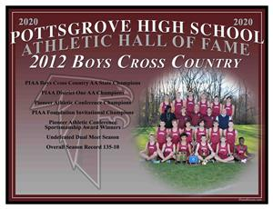 2012 Boys Cross Country