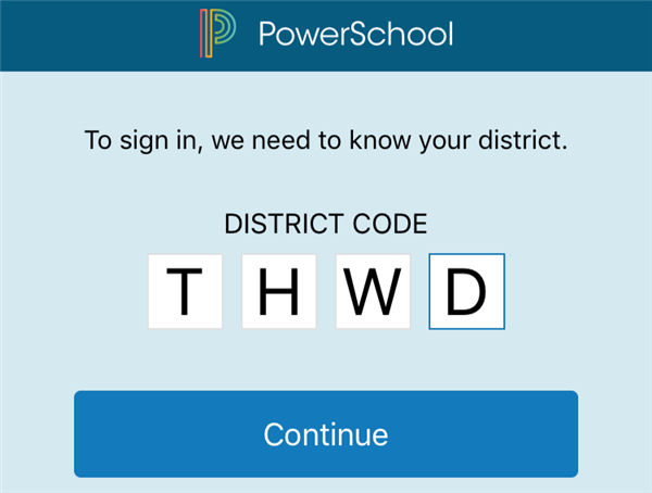PowerSchool App Code