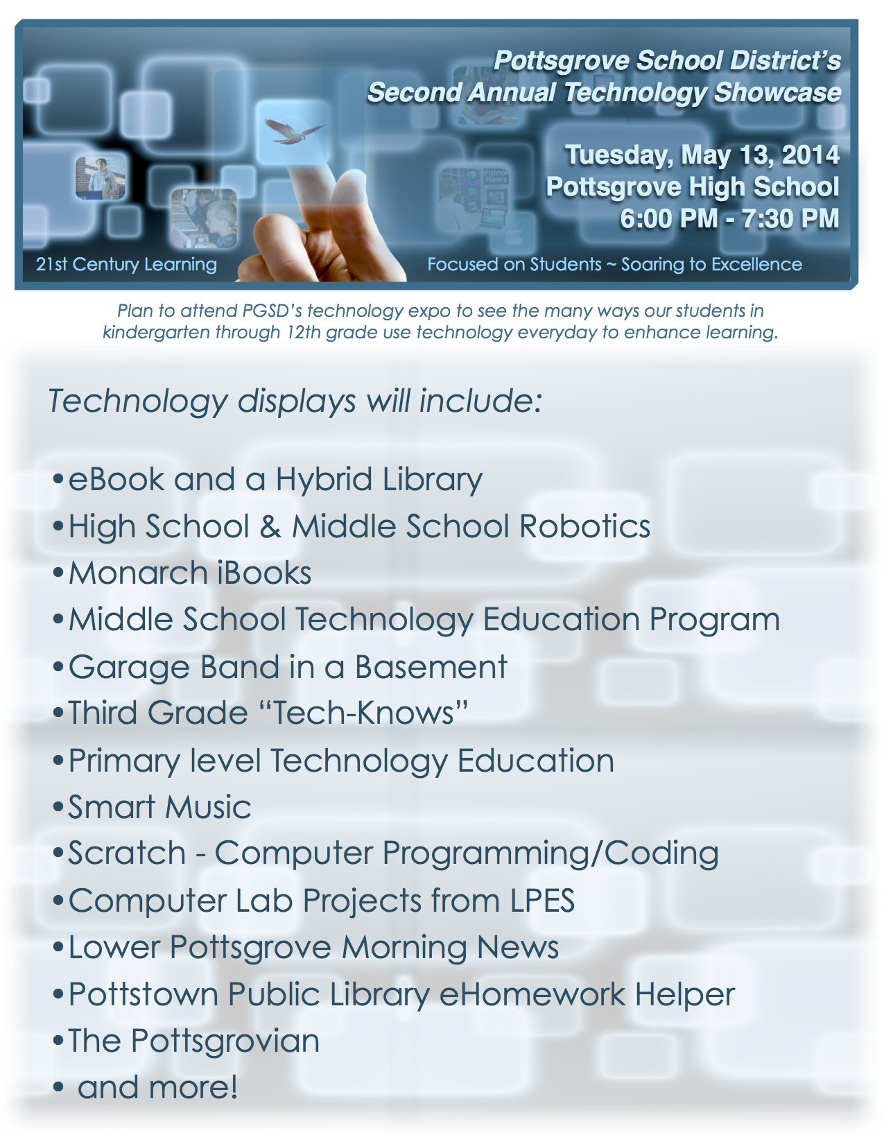 Tech Expo Flyer