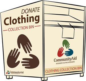 Community Aid Clothing Bin